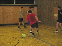 Fußballtraining 2005