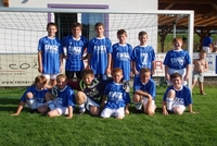 Kinderfußballtraining 2008