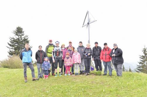 Wanderung am Freidhofberg 2016