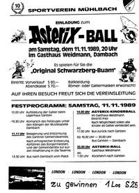 Asterixball Plakat
